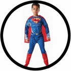 SUPERMAN KINDER DELUXE KOST�M - MAN OF STEEL
