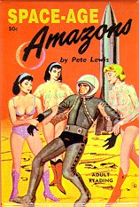 Pulp Fiction Covers - Space Amazons