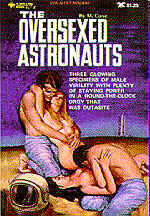 Pulp Fiction Covers - The Oversexed Astronauts