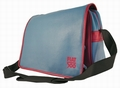 Fiat 500 Tasche - Messenger Bag - Blau