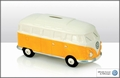 VW Campervan Spardose weiss/orange